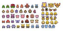 Overworld-Pokémon (Pokémon Tileset)