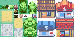 Pokémon Advance (Pokémon Tileset)