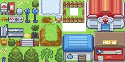 WesleyFG Tileset (Pokémon Tileset)